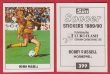 Motherwell Bobby Russell 399